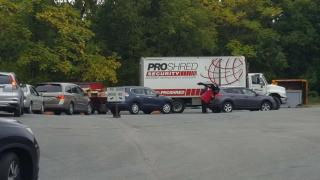 By noon this truck was filled to capacity!